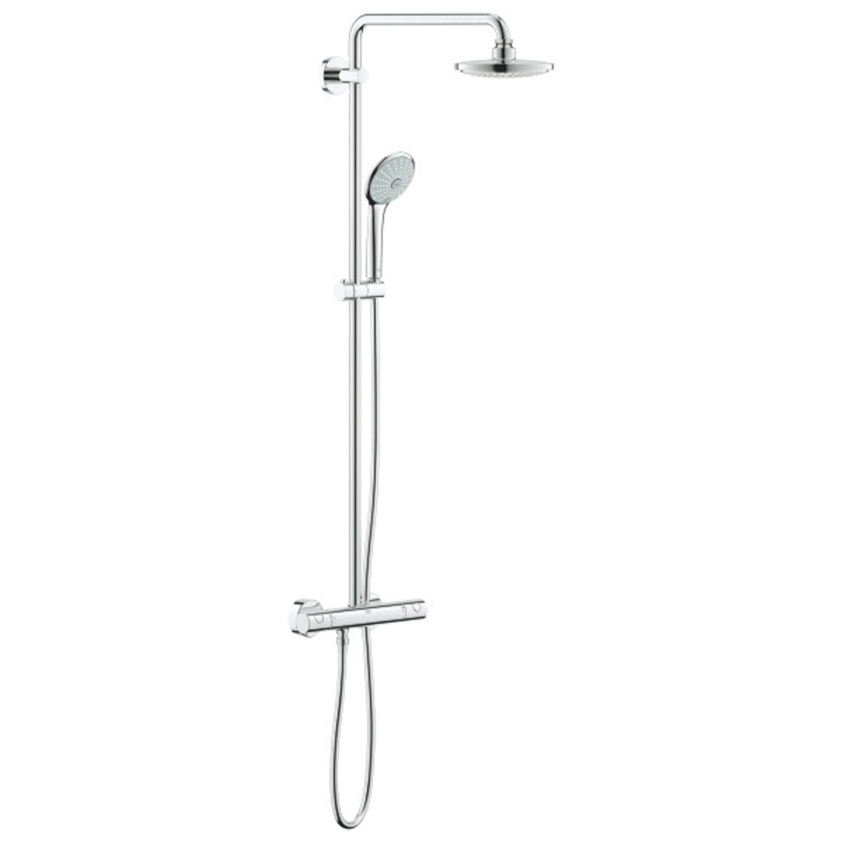Grohe Euphoria Douchesysteem 180 Chroom Grohe Euphoria 180 Regendouchesysteem Met 18cm Hoofddouche Chroom