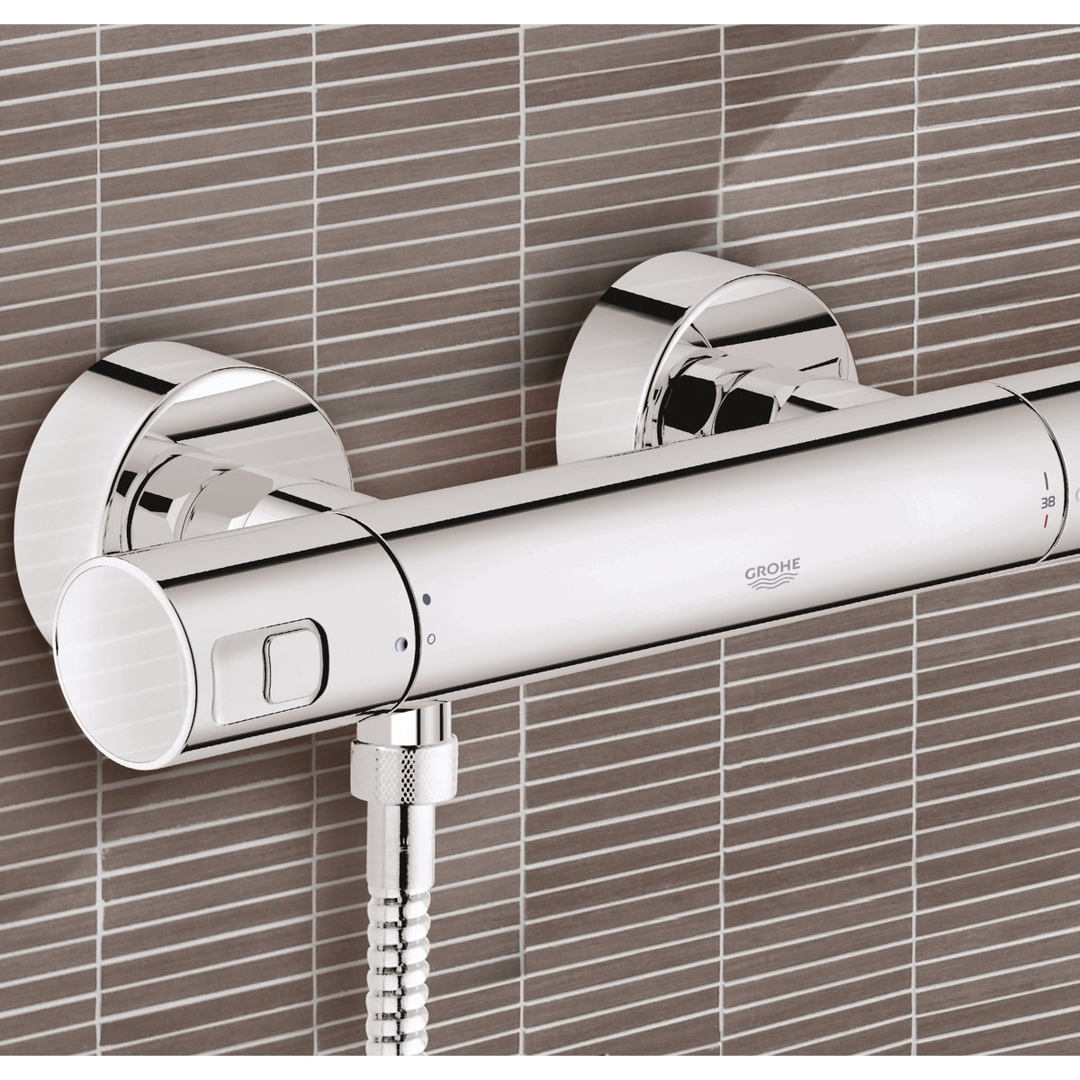 Thermostaatkraan Grohe Grohe Precision Joy Douchekraan Thermostatisch Chroom