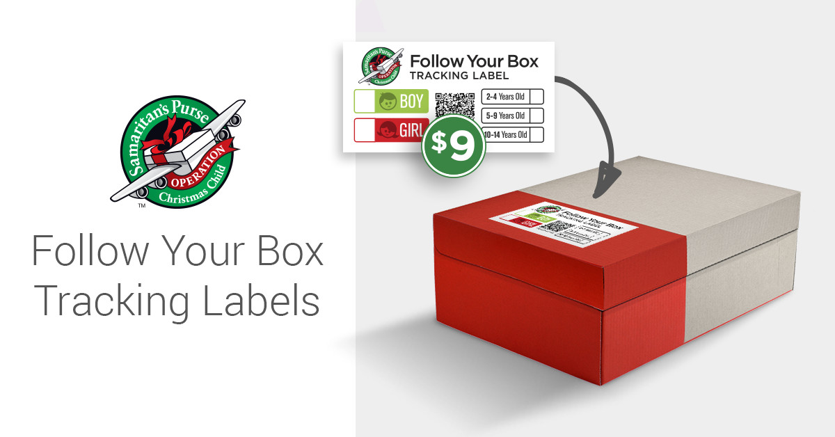 Follow Your Box Tracking Labels