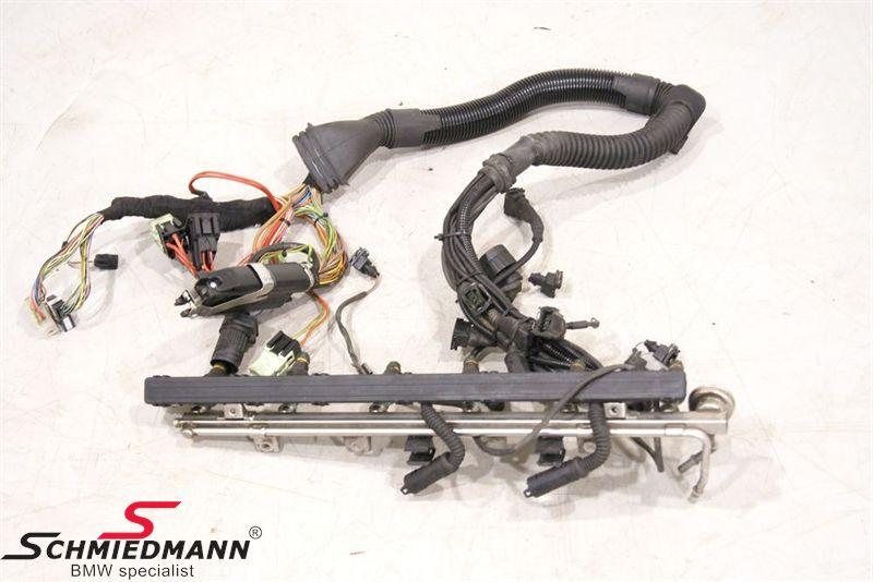 BMW E39 - Engine wiring harness - Schmiedmann - Used parts