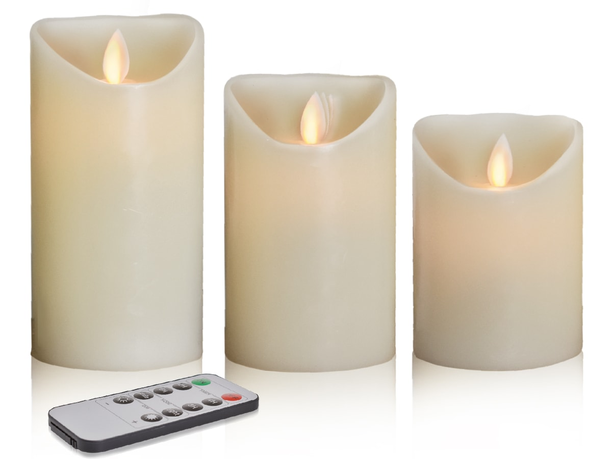 Flamme De Bougie Bougie Led Homecandles