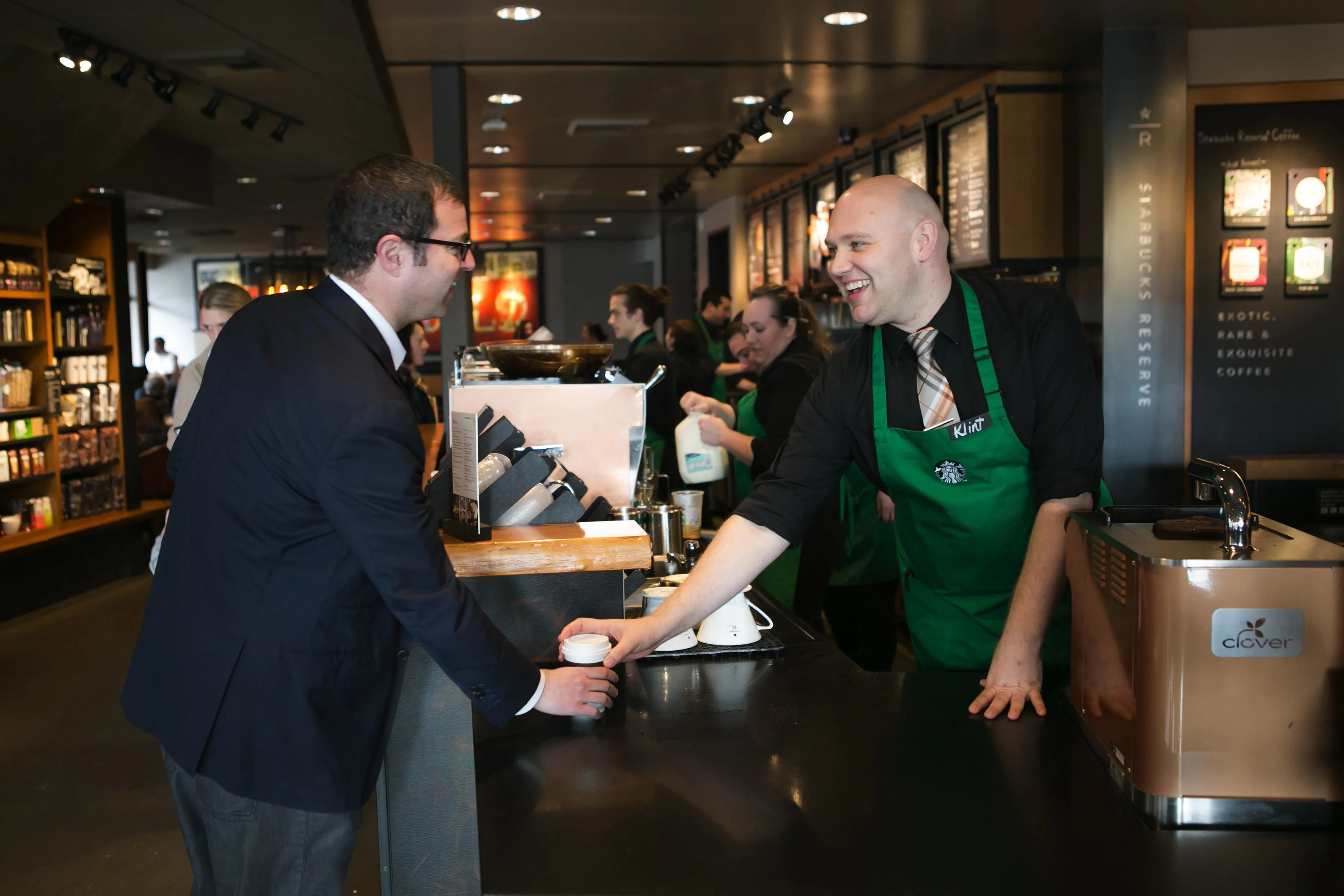 Starbucks readies rollout of mobile ordering in Seattle area The - starbucks store manager