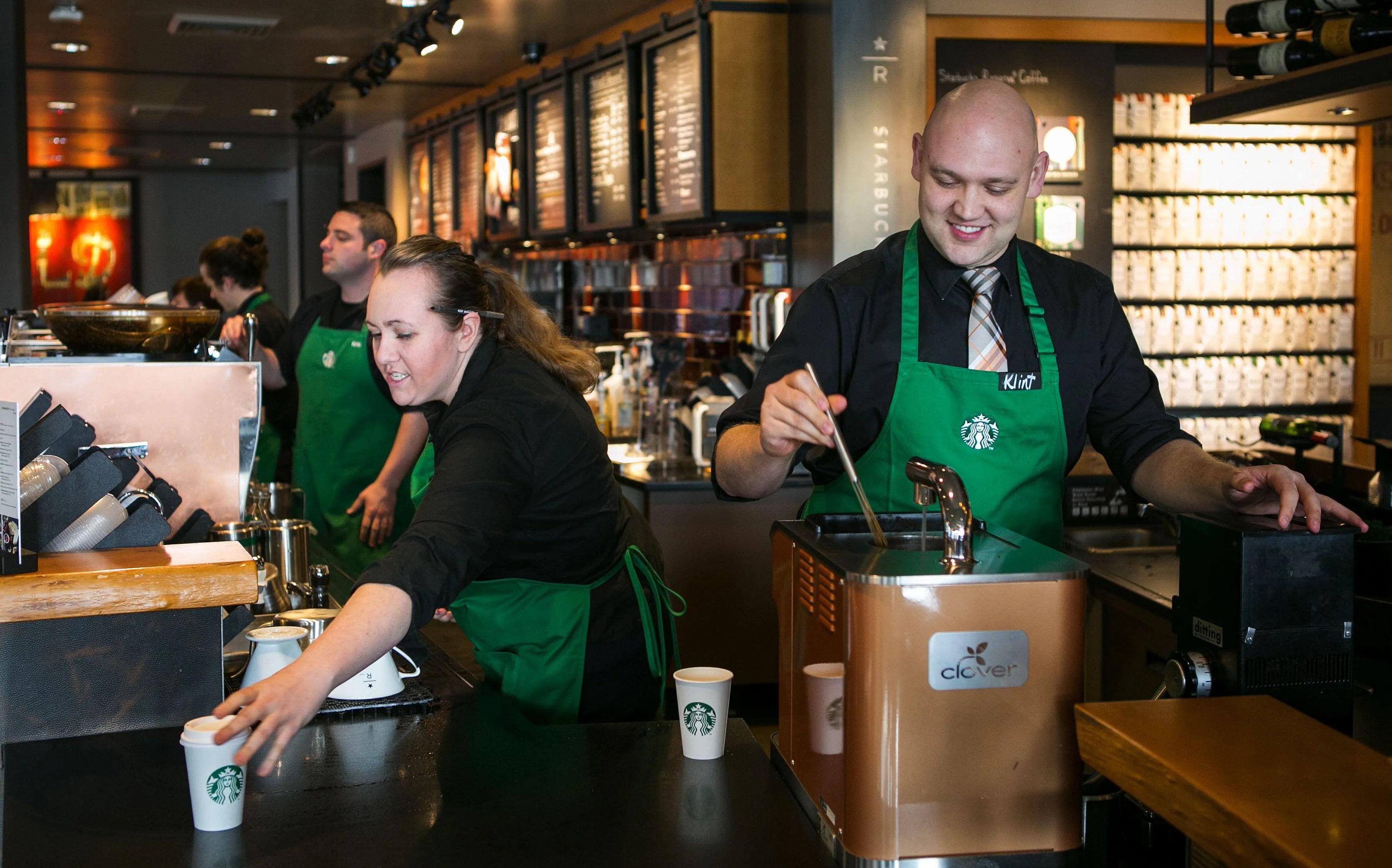 Starbucks\u0027 new drinks, eats, tech lift profit The Seattle Times
