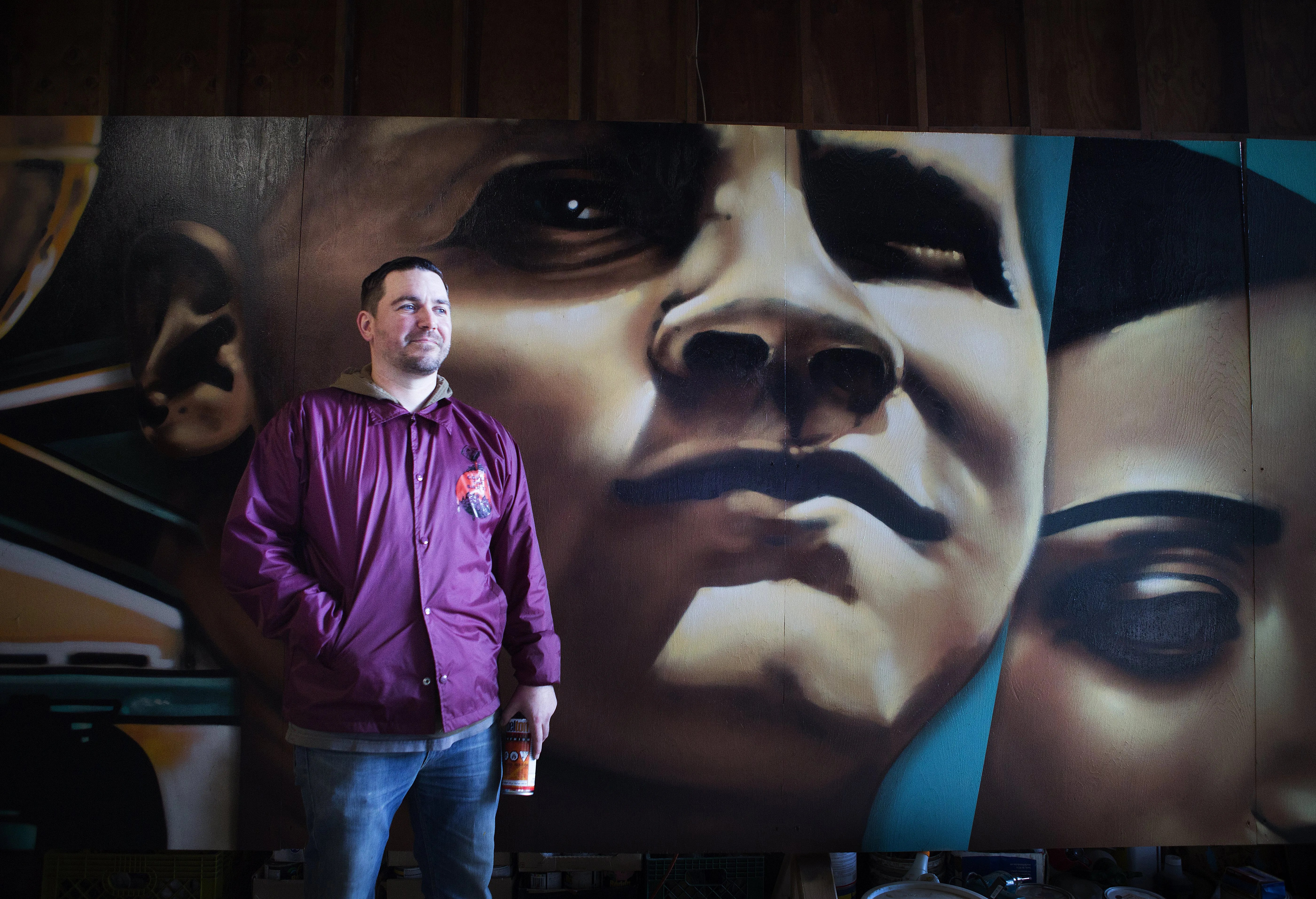 Arete Kirkland Apartments Life Is Paint Muralist Joey Nix Enlivens The City S Walls The
