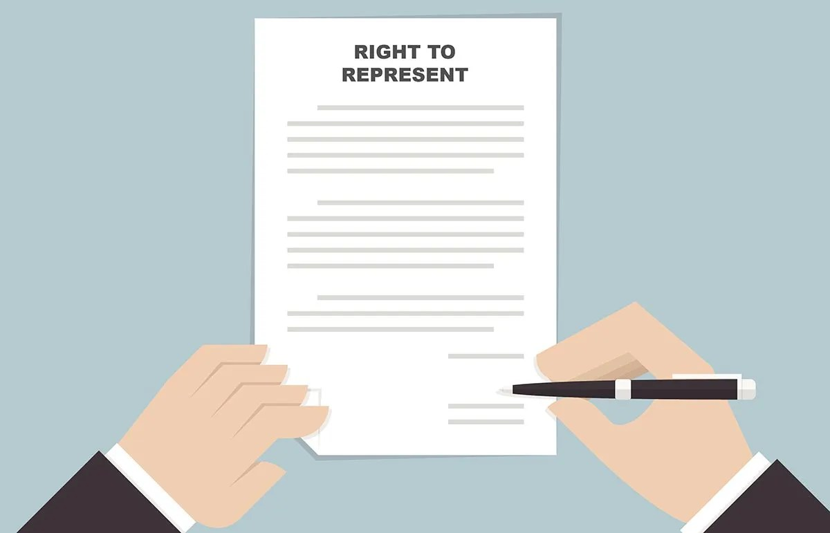 Should you sign a right-to-represent agreement with a recruiter
