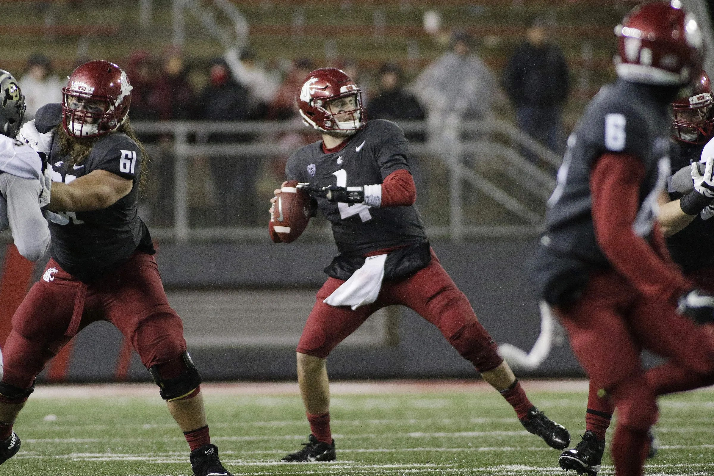 WSU QB Luke Falk is drafted in the sixth round by the Tennessee