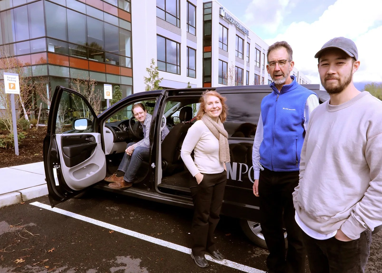 Stuck in traffic? These folks found a solution by joining a vanpool