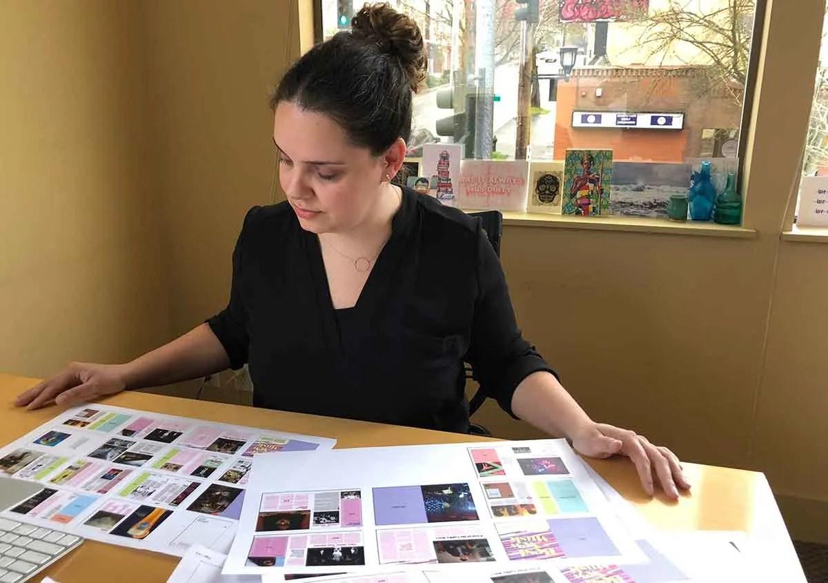 Editor-in-Chief Leah Baltus\u0027 cool job at City Arts magazine The