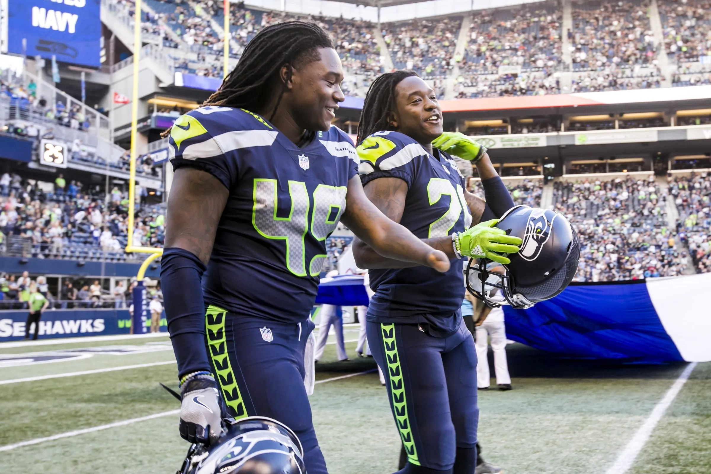Six things to know from the Seahawks on Wednesday Shaquem Griffin