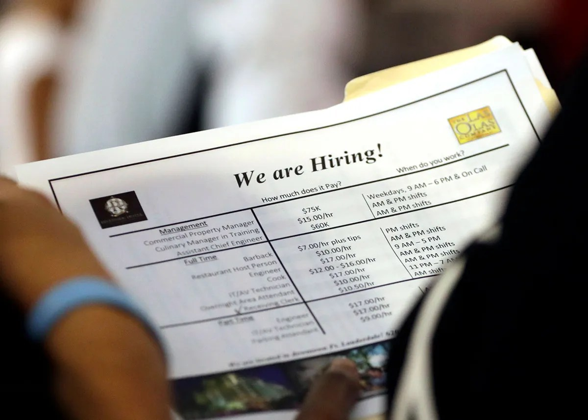 As joblessness falls, skilled workers might be hard to find The