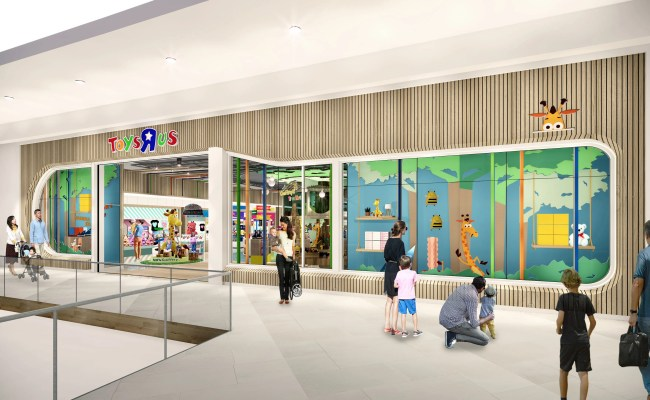 Toys R Us Is Back From The Dead But Its New Stores Are