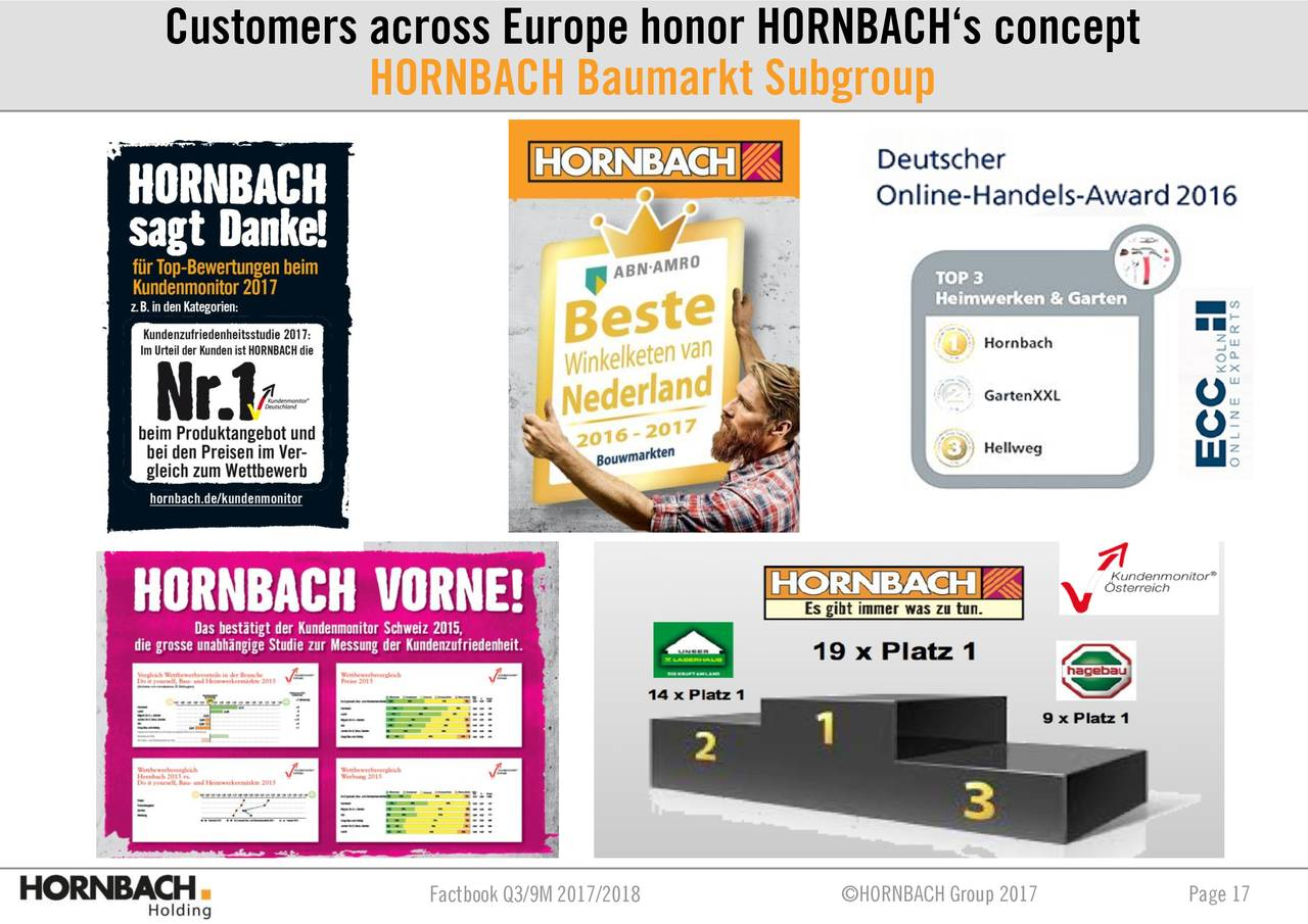Hornbach D Hornbach Ag 2018 Q3 Results Earnings Call Slides Hornbach Ag