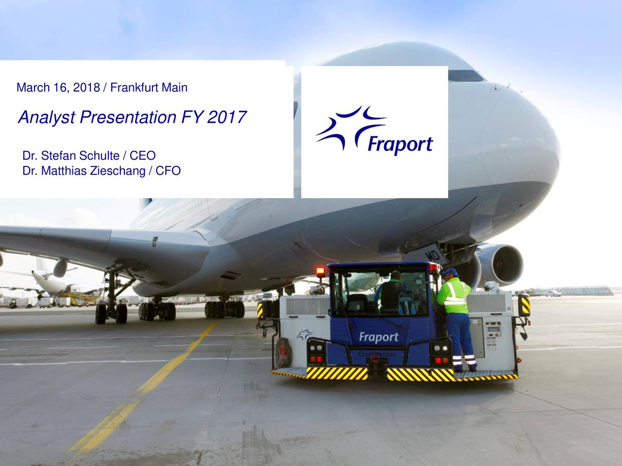 Black Friday Frankfurt 2017 Fraport Ag Adr 2017 Q4 Results Earnings Call Slides