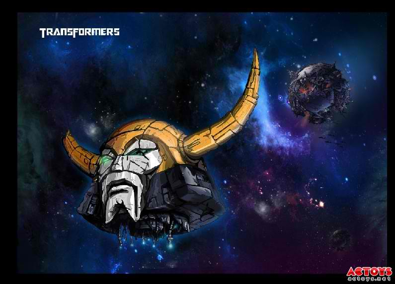 Grimlock Fall Of Cybertron Wallpaper Third Party Battle Damaged Unicron Head From Dr Wu
