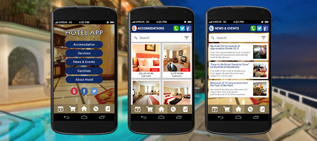 Buy Hotel Booking Android app source code - Sell My App - booking app