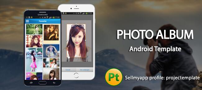 Buy Photo Album template app source code - Sell My App