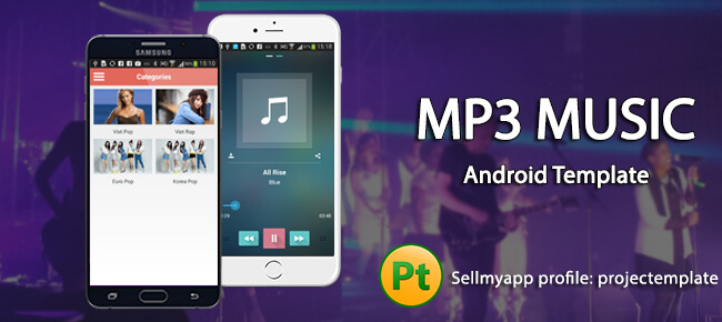 Buy MP3 Music Android app source code - Sell My App - android template
