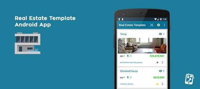Buy Real Estate Template App source code - Sell My App