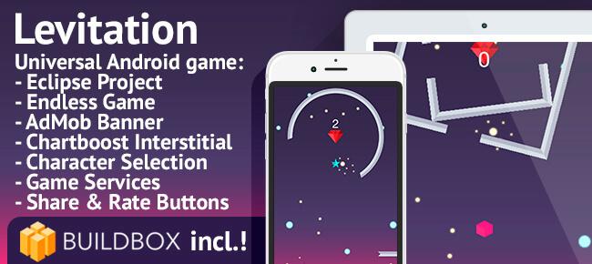 Buy Levitation BuildBox app source code - Sell My App