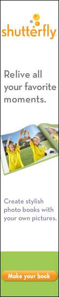 Shutterfly Photo Books 120x600