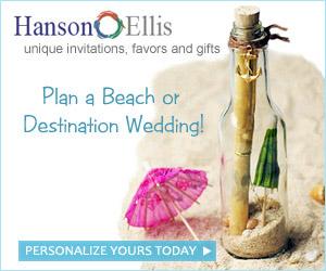 Beach Wedding Invitations & Favors