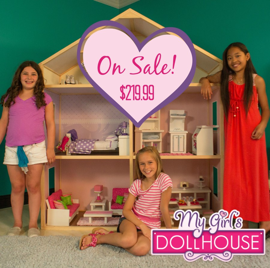 Save $80 on My Girl's Dollhouse