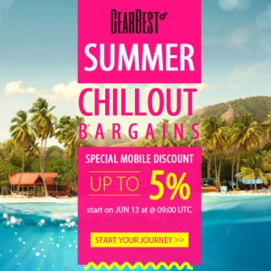 Gearbest Summer Chillout Promotion 2016