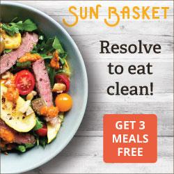 Sun Basket 3 Meals Free