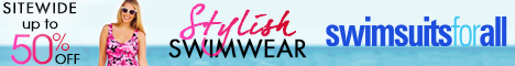 Save Up to 50% off Stylish Swimwear Guaranteed to fit