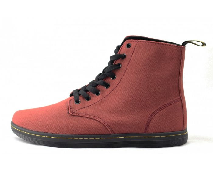 Dr Martens For Mens Alfie Cherry Boots Cherry Red