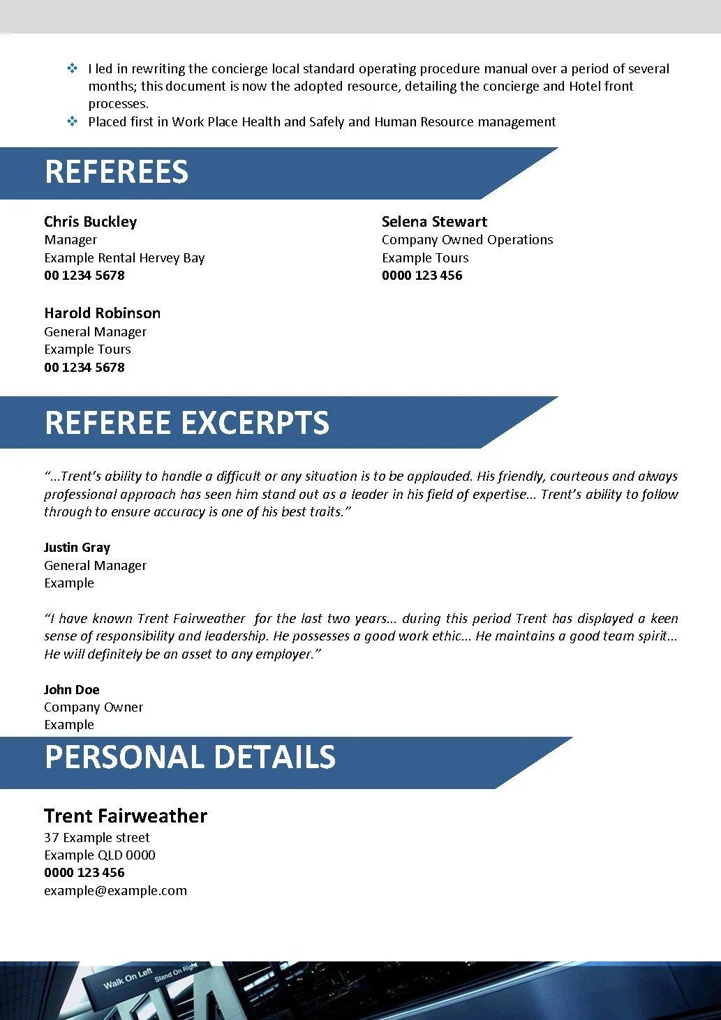 Resume Objective Examples for Various Professions