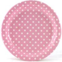 Polka Dot Paper Plates | Car Interior Design
