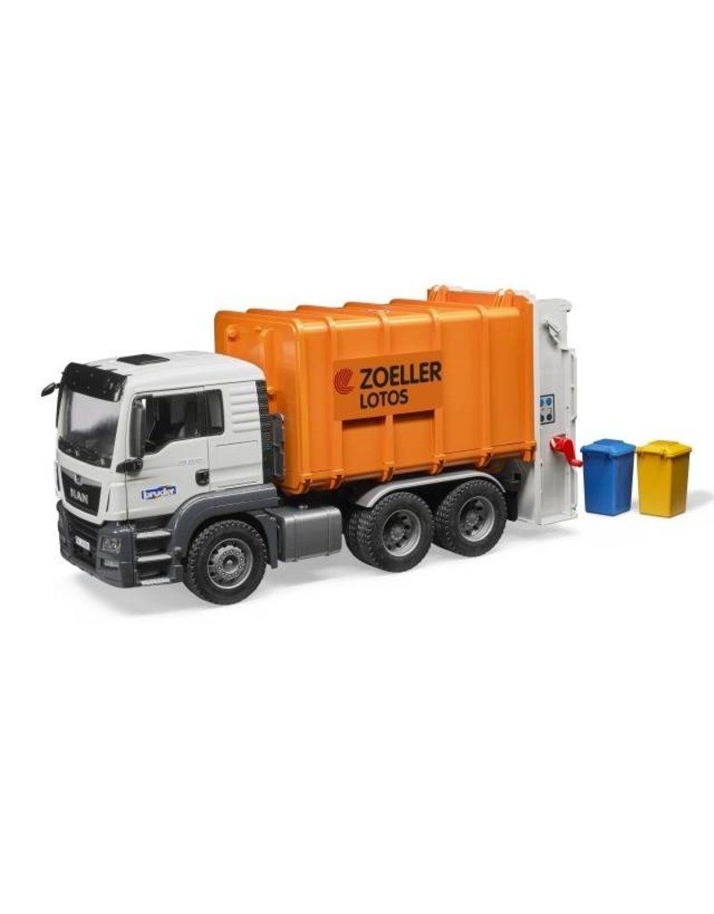 Large Of Bruder Garbage Truck