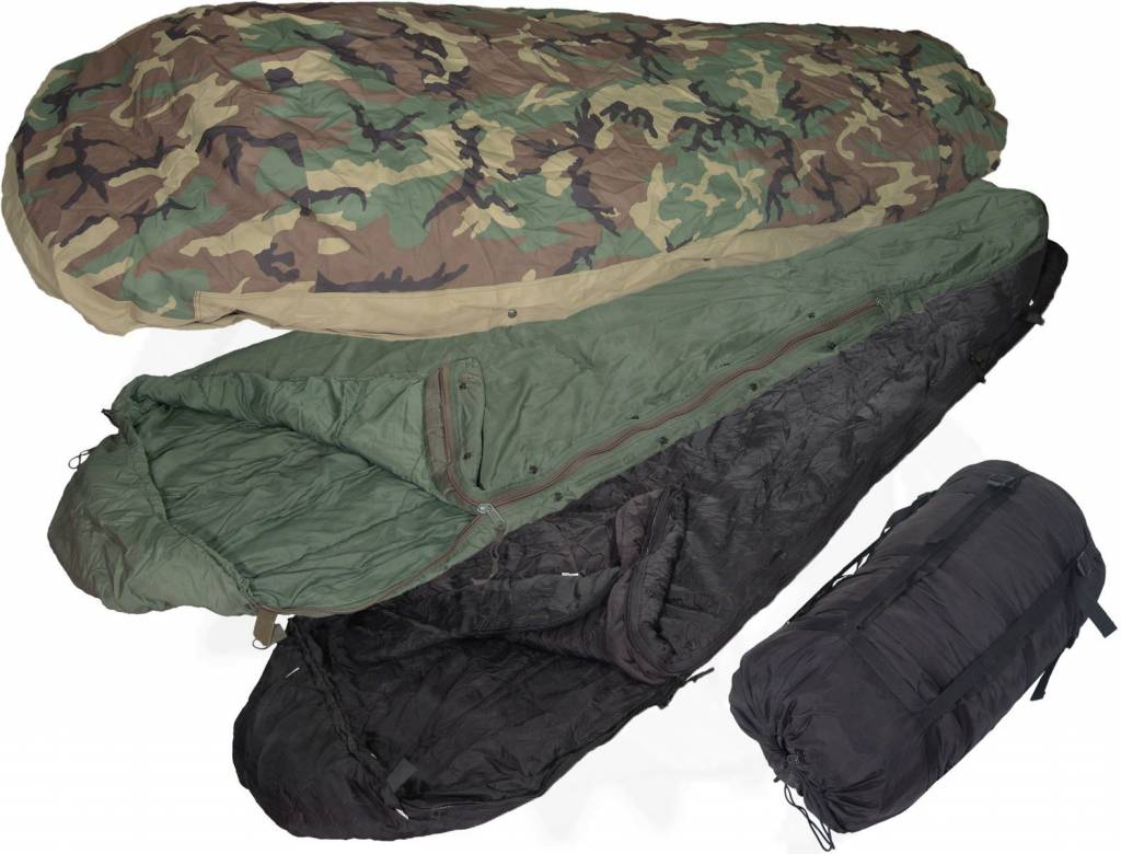 Genuine Us Military Extended Cold Weather Sleeping Bag