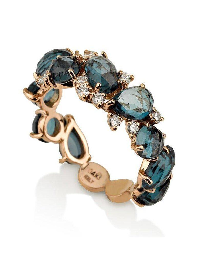 Fullsize Of London Blue Topaz Ring