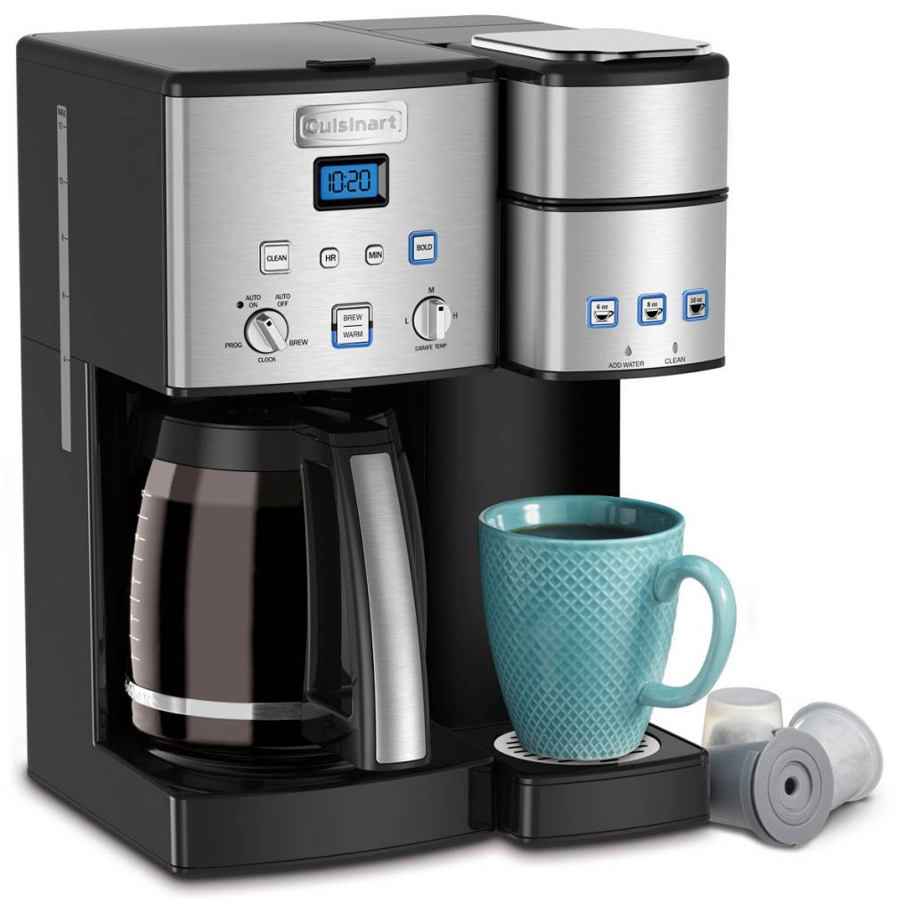 Amazon Cuisinart Stock Pot Coffee Center 12 Cup Coffeemaker And Single Serve Brewer