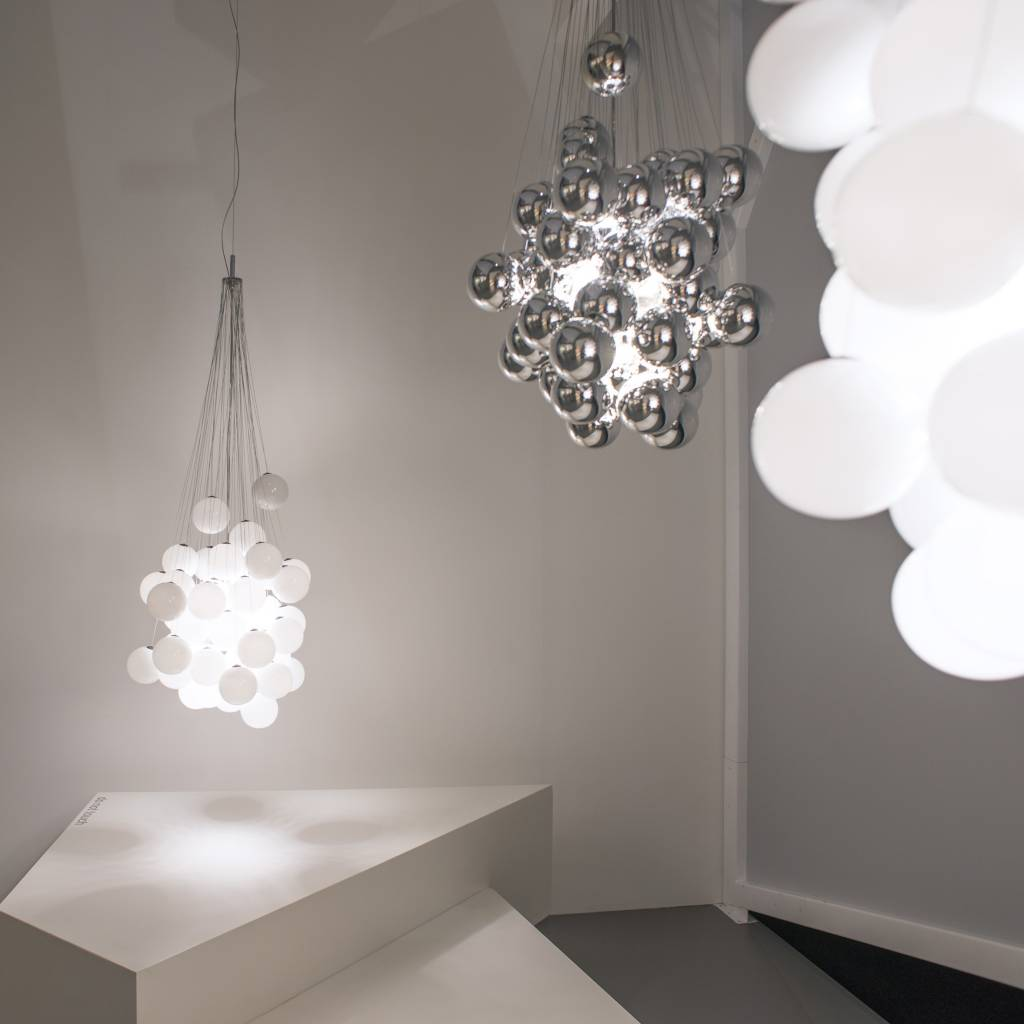 Crystal Floor Lamp Luceplan Stochastic - Lumigroup - Architectural Lighting