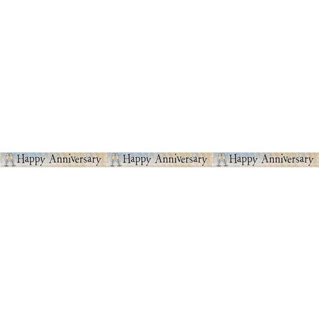 Happy Anniversary Banner Tribout\u0027s Party-Bingo-Carnival