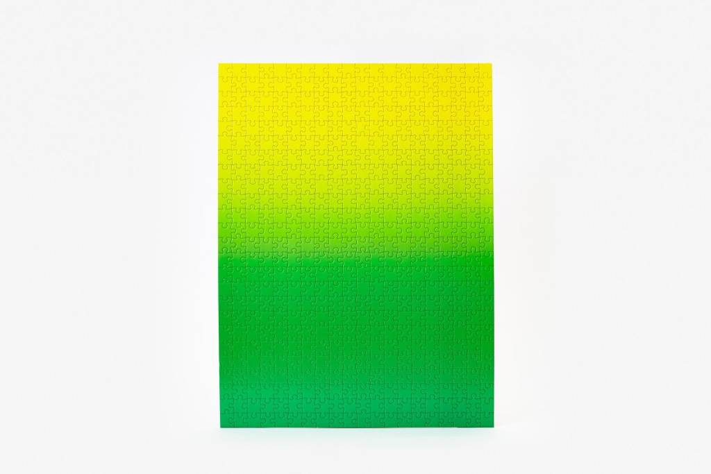 Gradient Puzzle - Green/Yellow - Toy Space