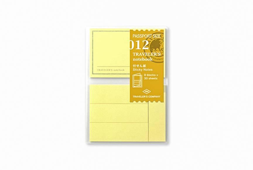 traveler\u0027s company - sticky note refill - passport 012 - Oblation - stickey notes