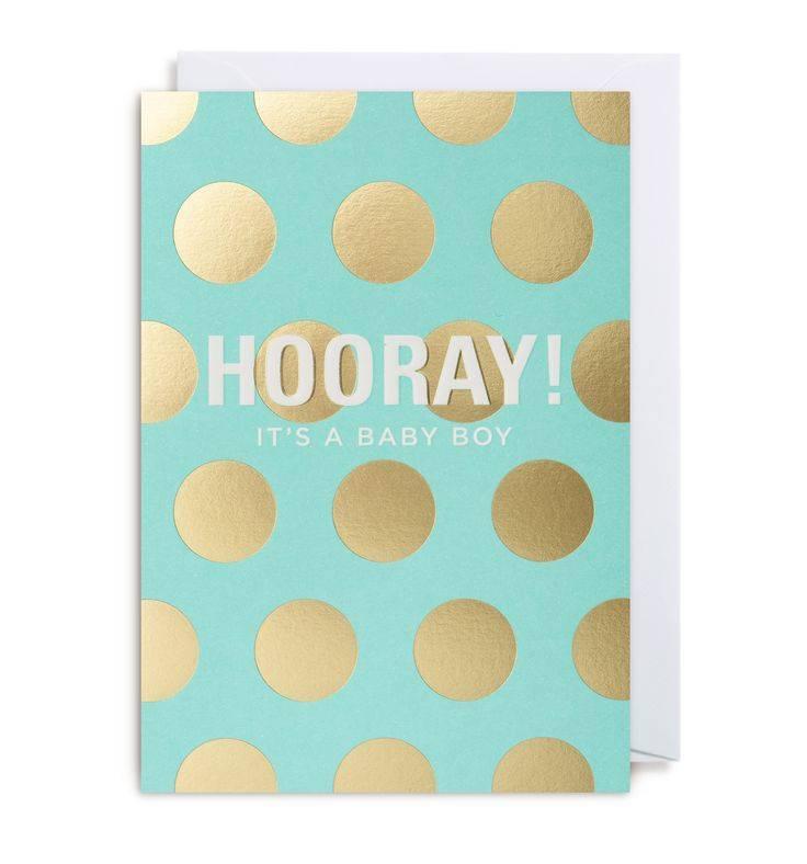 Calypso hooray! Its boy card - Stash Apparel and Gifts