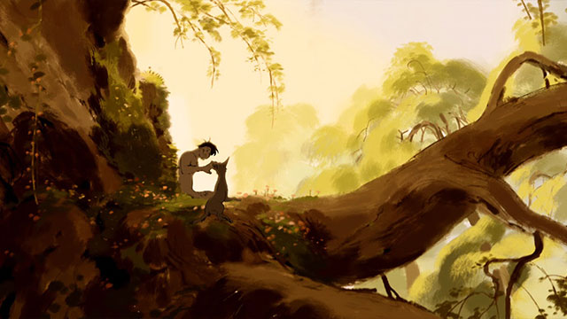 God Animation Wallpaper Adam And Dog By Minkyu Lee Animated Short Film