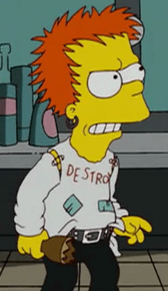 Fall Out Boy Laptop Wallpaper Johnny Rotten Wikisimpsons The Simpsons Wiki