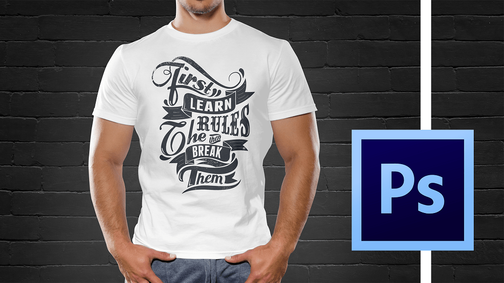 Cool T Shirt Schwarz S Bestselling T-shirt Design Masterclass With Adobe