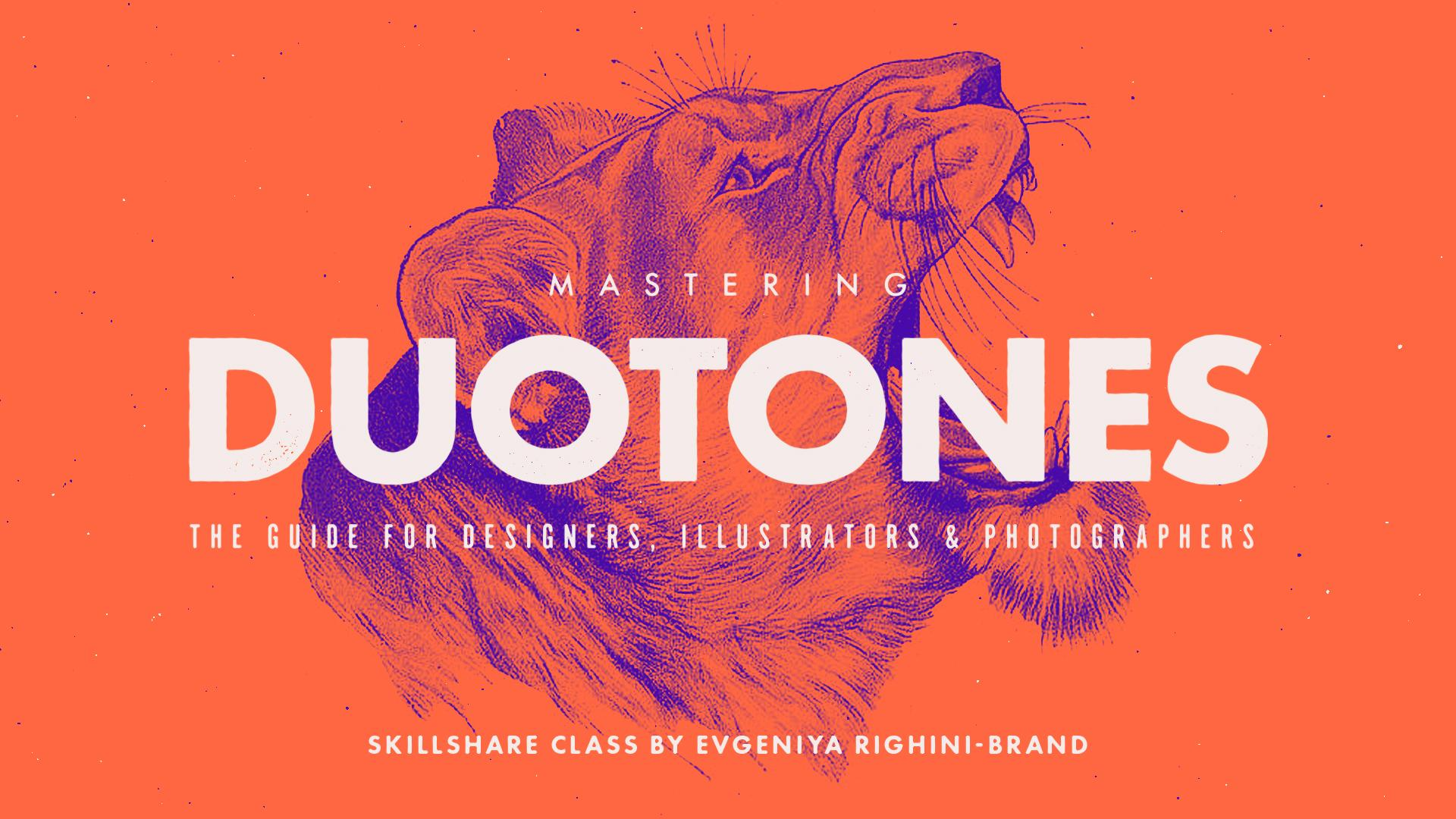 Photoshop Classes Mastering Duotones In Photoshop Evgeniya Dominic Righini Brand