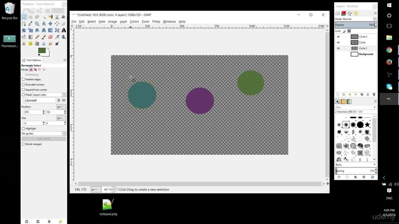 2 Gimp Tutorial Introduction To Gimp 2 8 Tutorials For Beginners Christopher