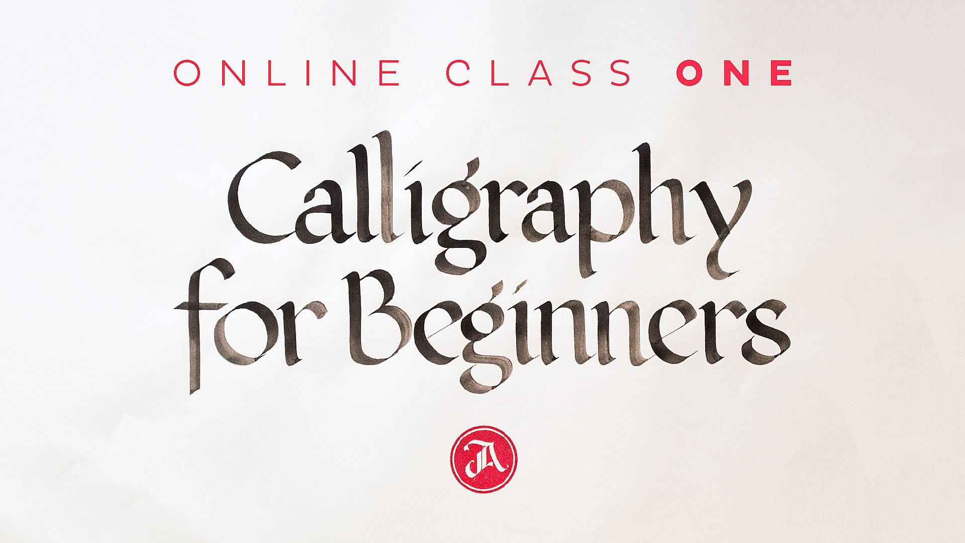 Calligraphy For Beginners Online Calligraphy For Beginners 1 The Foundational Styles Of