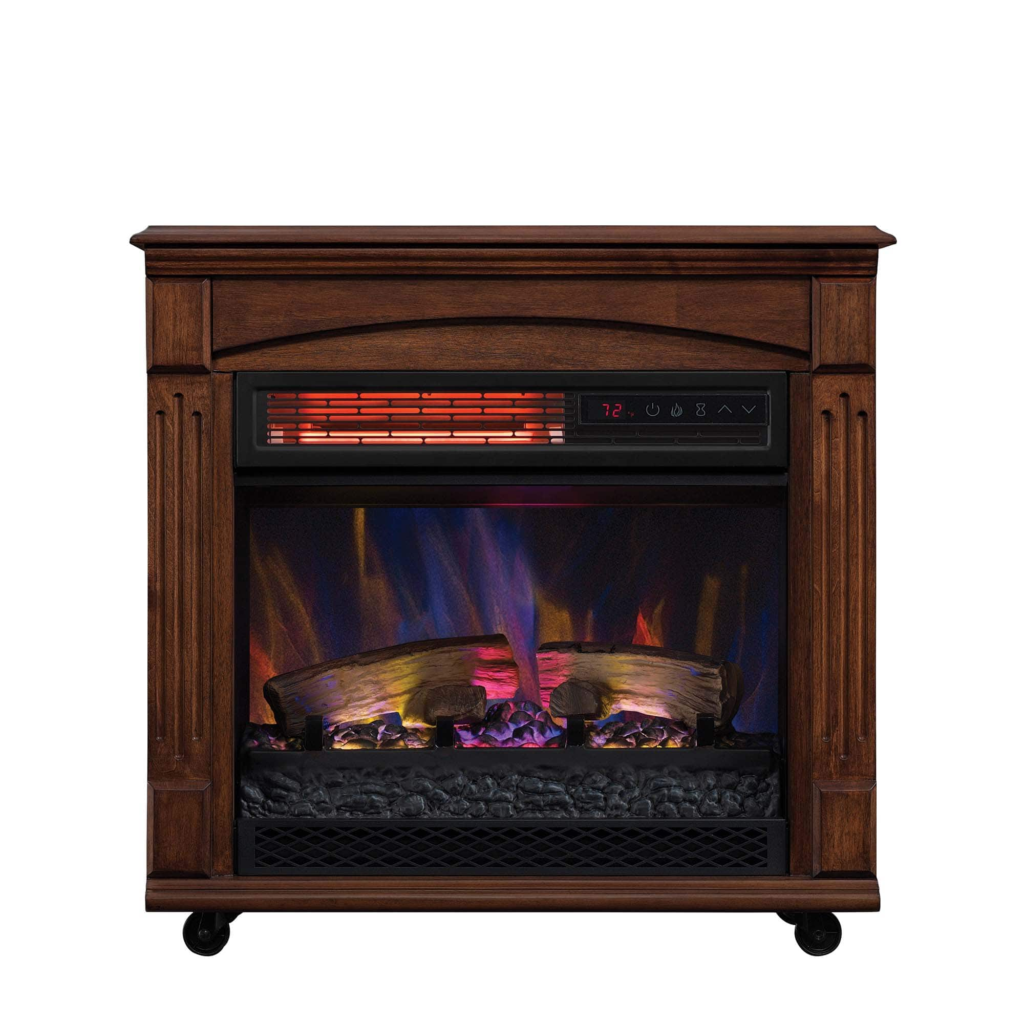 Electric Fireplaces For Sale At Walmart Infrared Quartz Electric Fireplace Space Heater For 64 00 At
