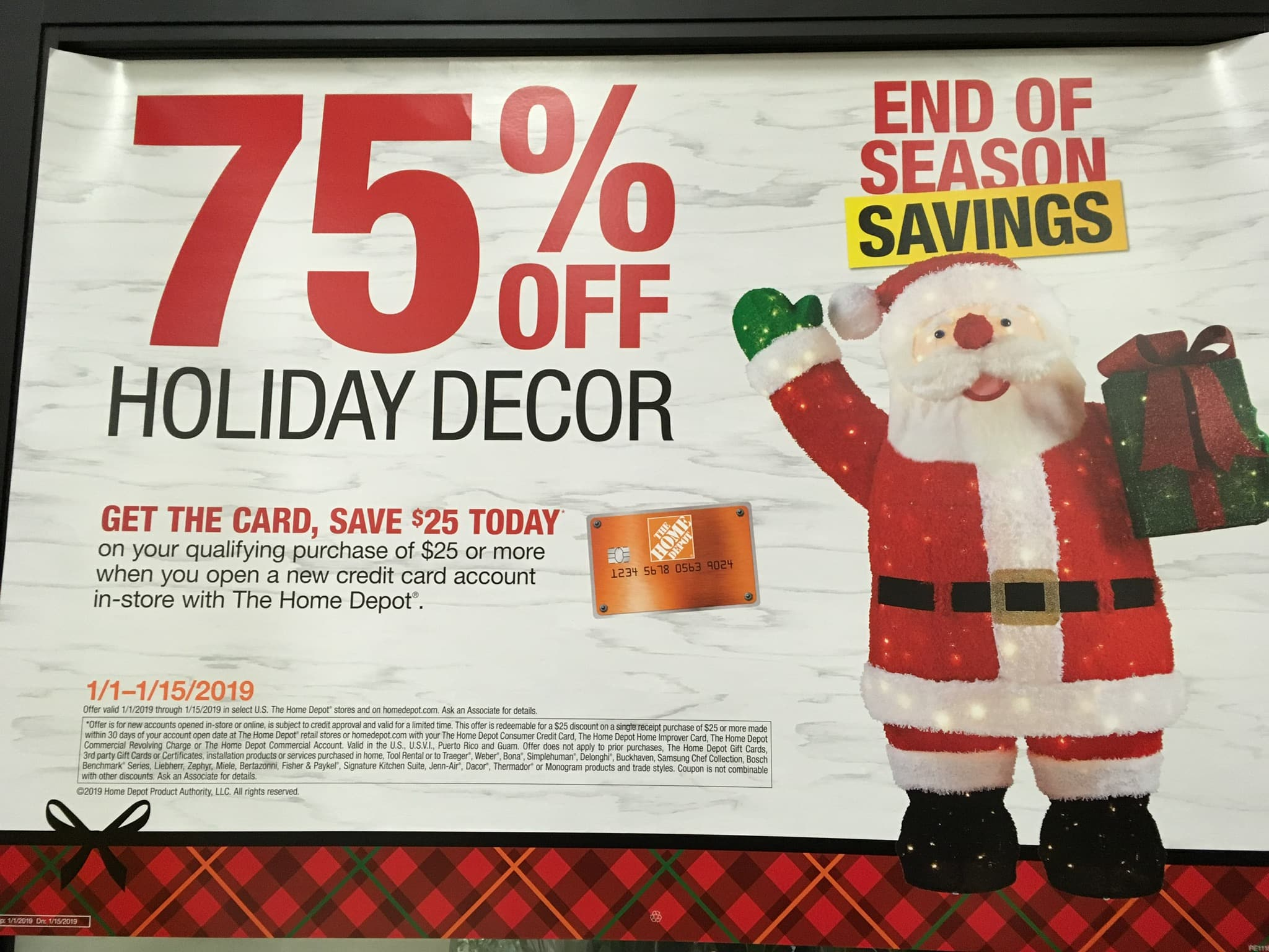 Home Depot Holiday Hours Home Depot 75 Off Holiday Christmas Decorations