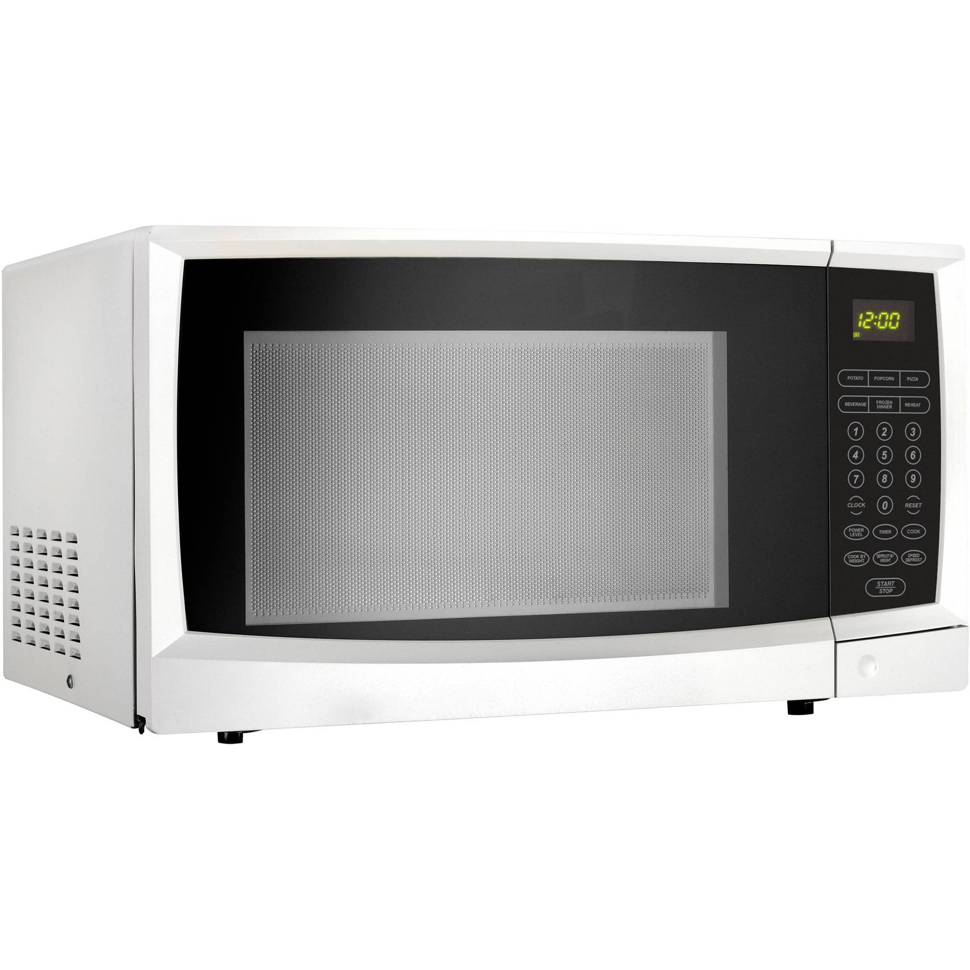 Walmart Countertop Microwave Danby 1 1 Cu Ft 1000w Countertop Microwave Oven White